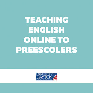 Teaching english online to preescolers