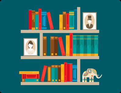 Una biblioteca para el colegio
